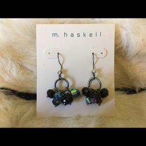 M HASKELL dangly earrings
